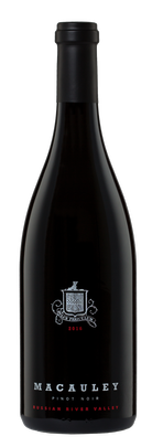2016 Macauley Pinot Noir, Russian River Valley $75.00