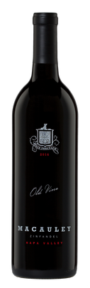 2016 Macauley 'Old Vine' Zinfandel, Napa Valley $45.00